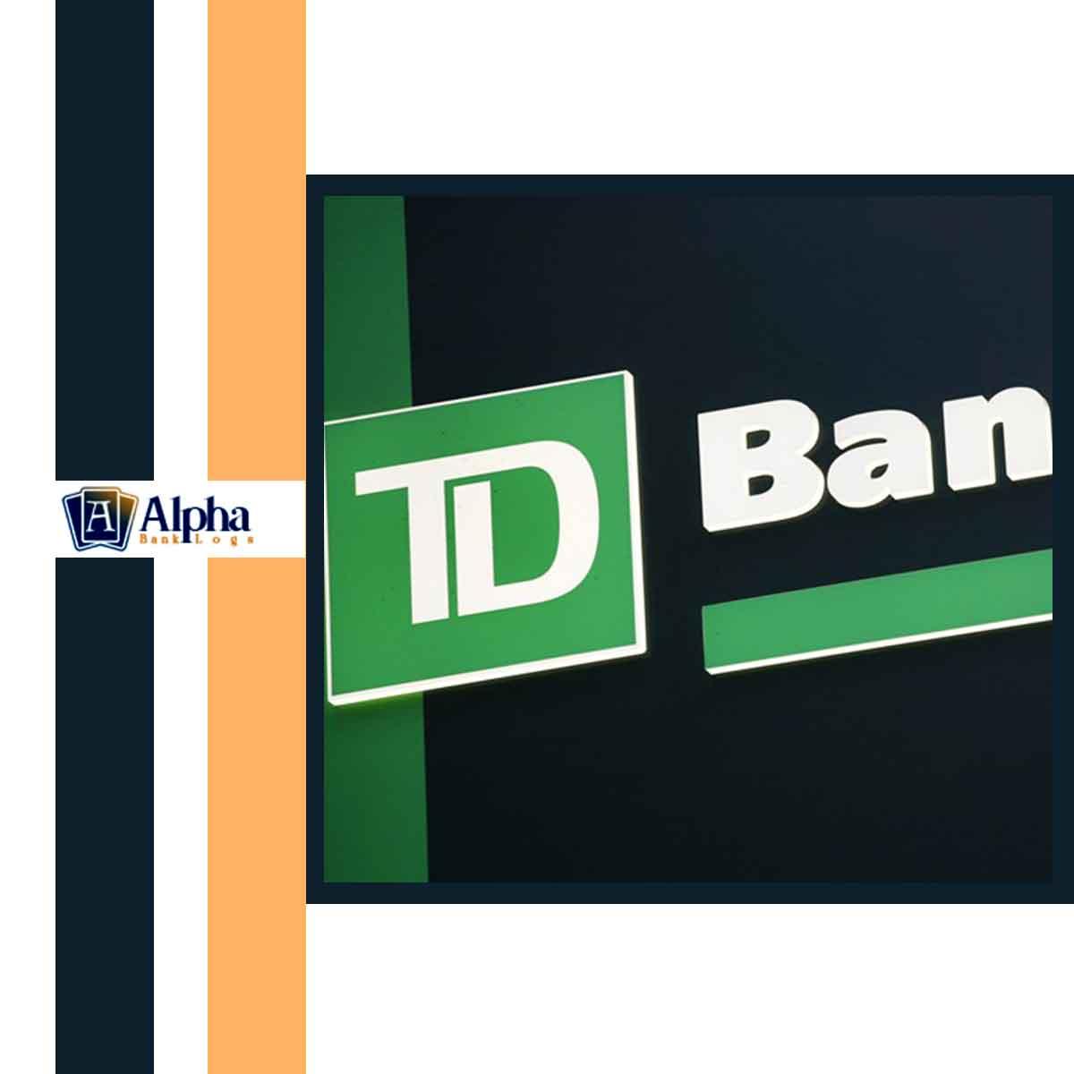 TD Bank (Own register accs)