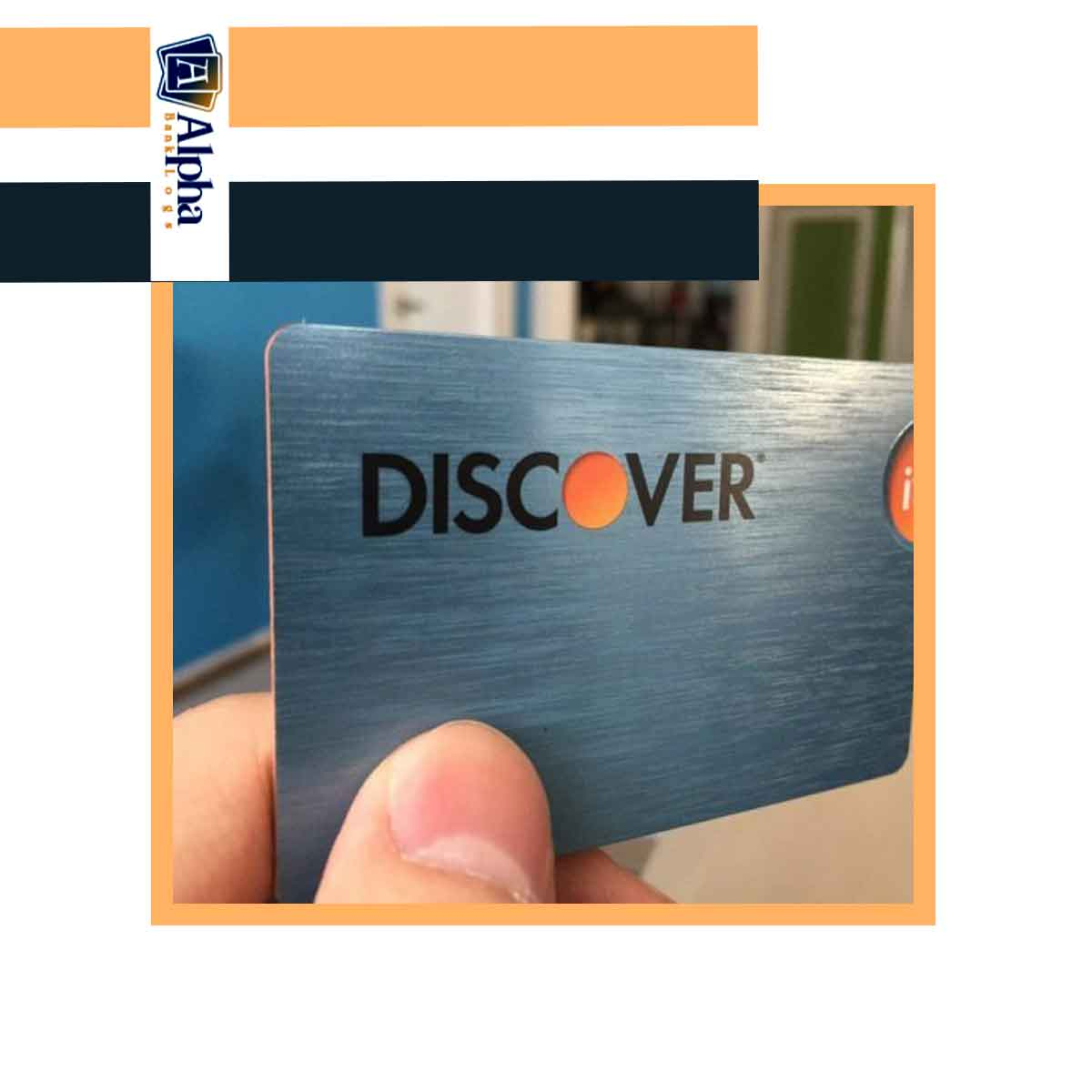 Discover Credit Card Blank (Chip 1Dip)